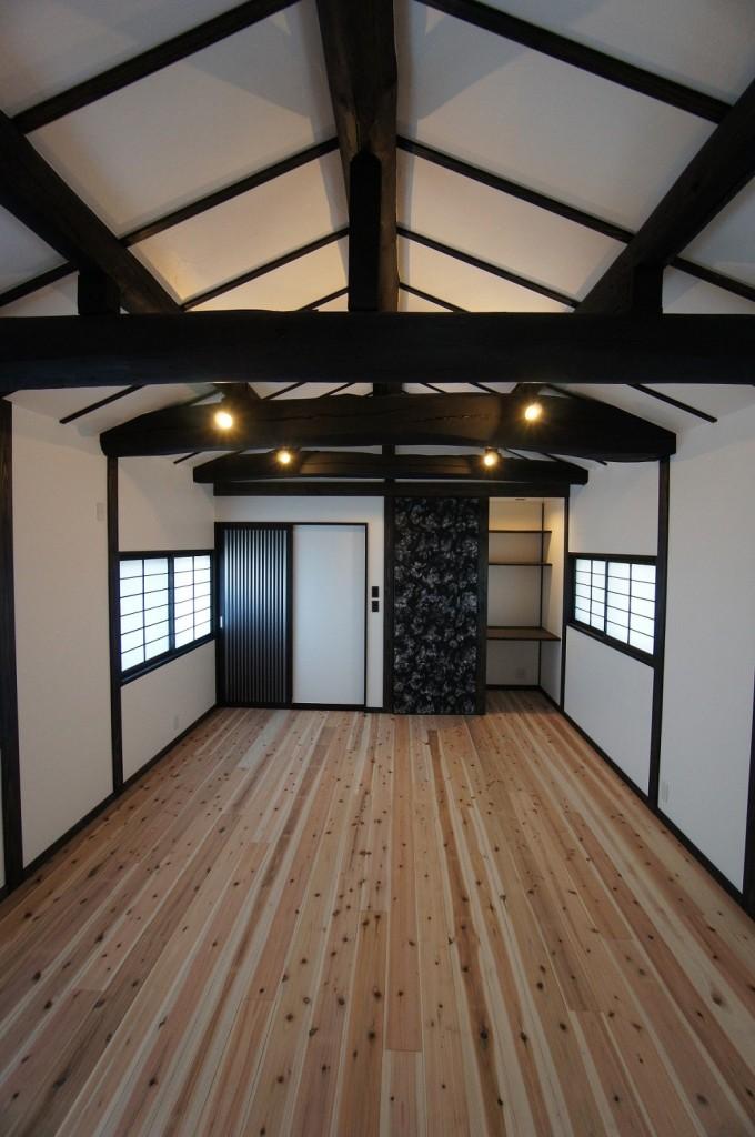 京都府南丹市 旧家再生 リフォーム工事 N様邸