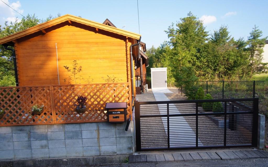 京都府京丹波町 セカンドハウスの外構づくり